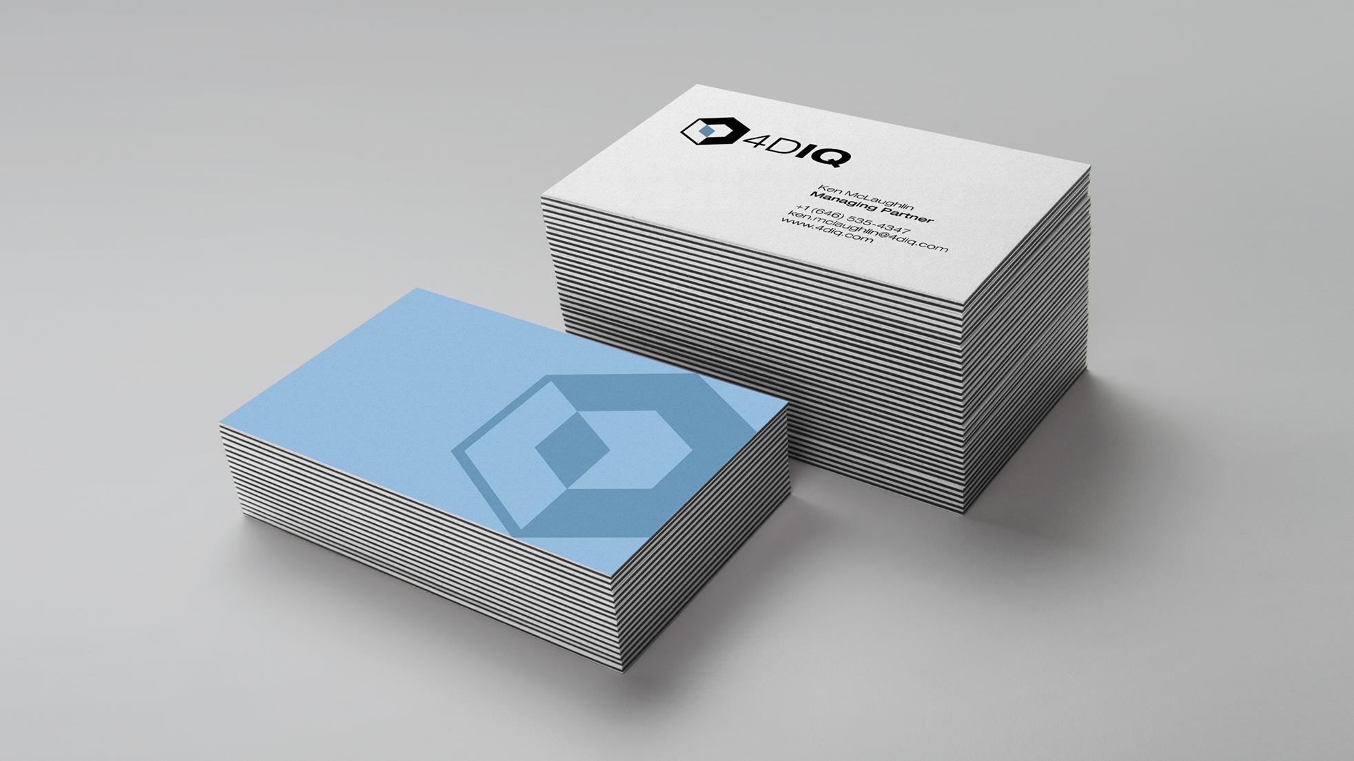 4DIQ business cards