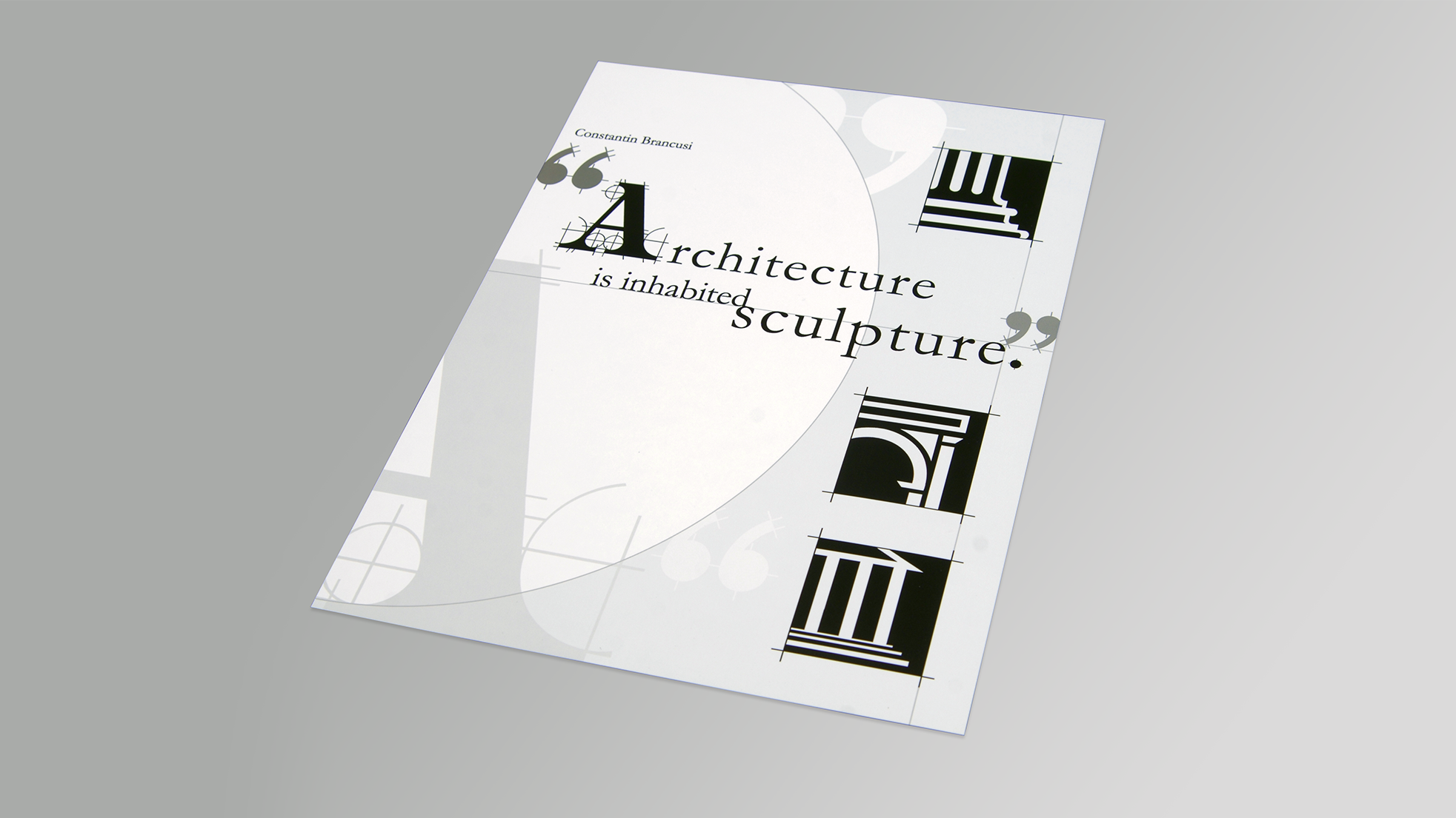Architectural Poster