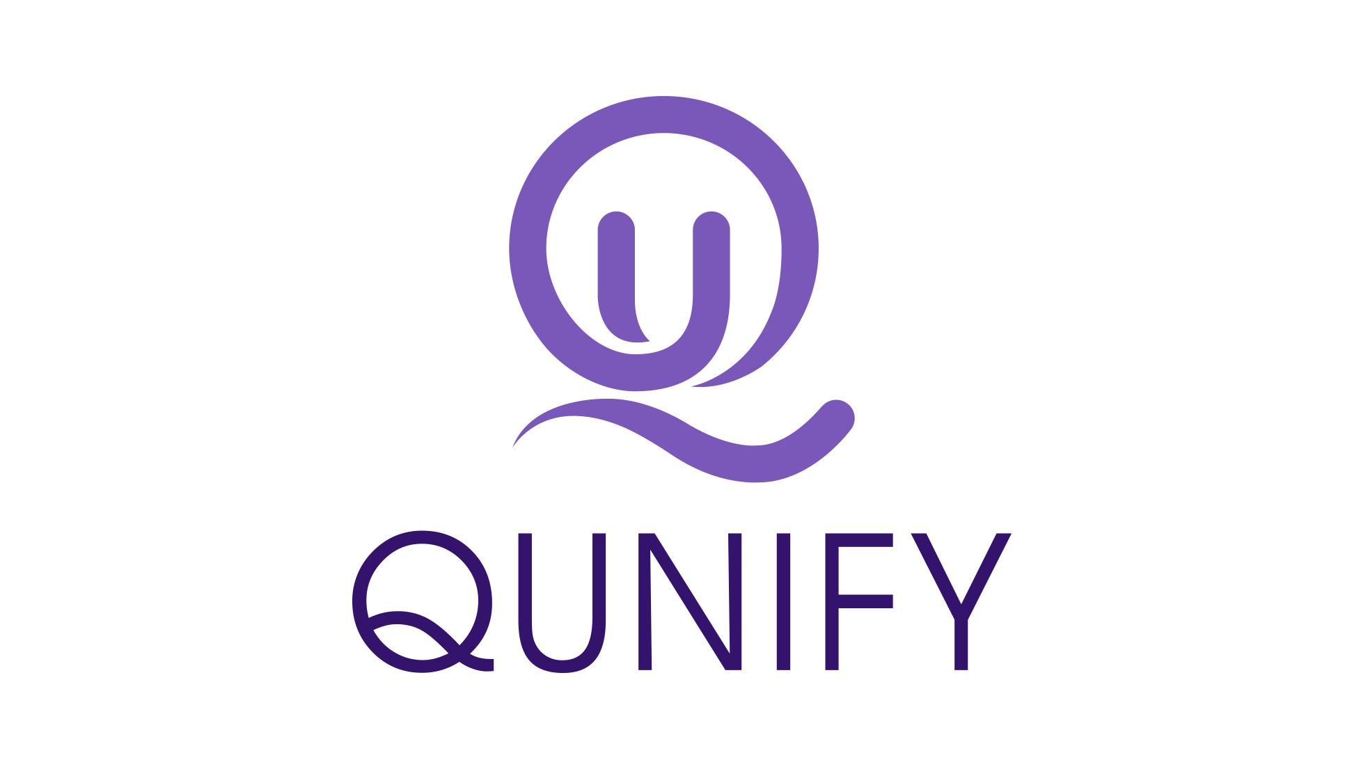 Qunify vertical logo