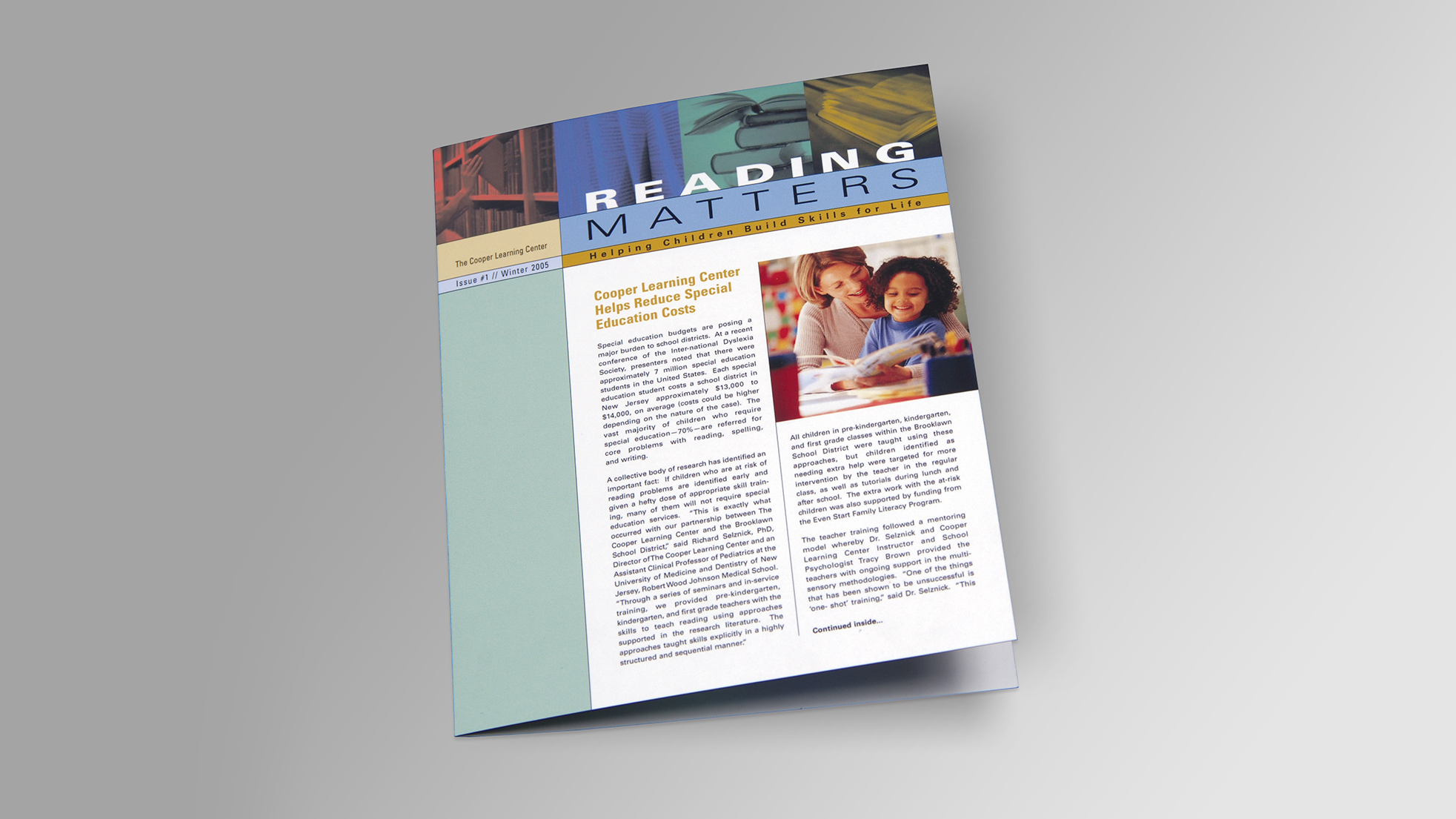Cooper Learning Center newsletter